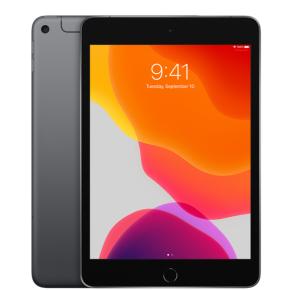 "Apple 7.9"" iPad mini (Wi-Fi + Cellular) 256GB - Space Gray Front View"